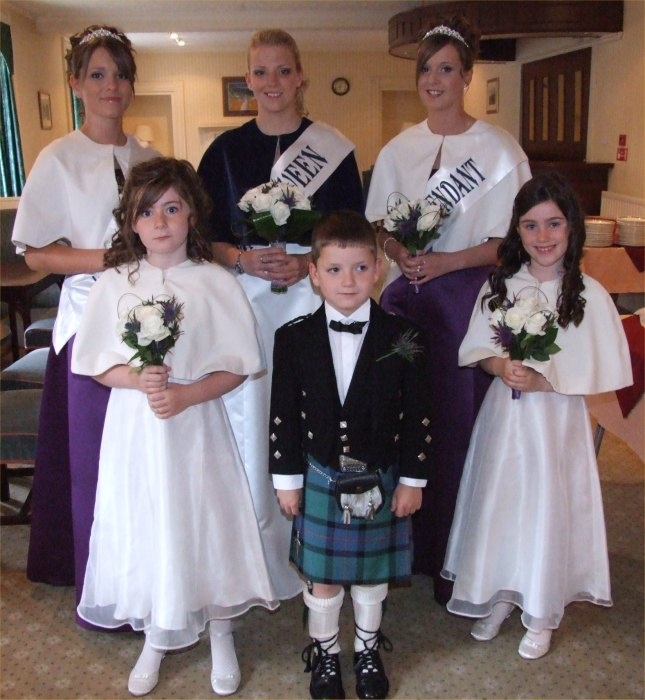 Gala Queen and Court  2007