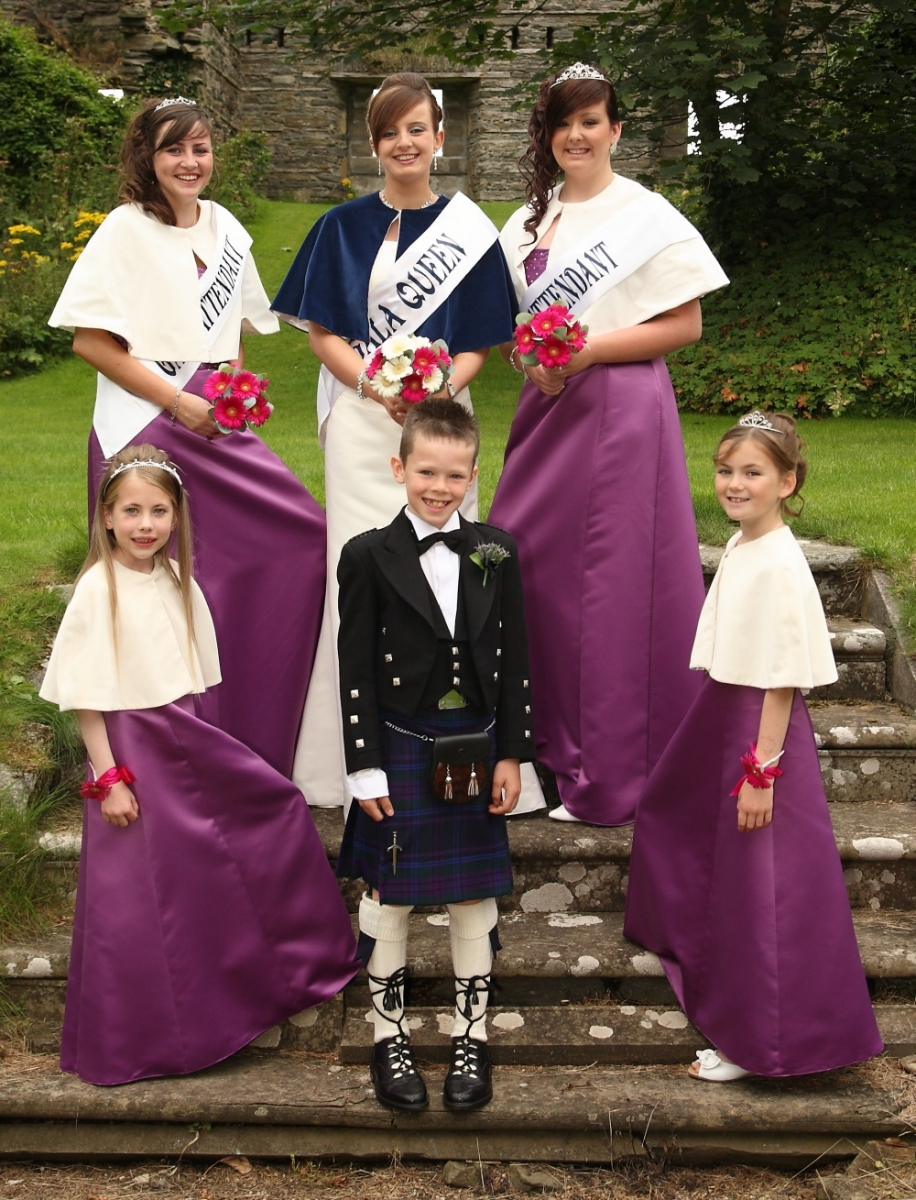Gala Queen and Court  2010